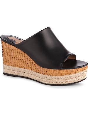 FERRAGAMO Maimei platform wedge sandals