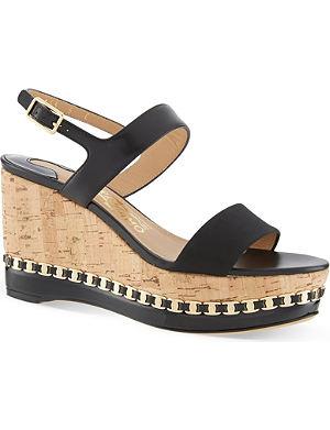 FERRAGAMO Mollie wedge sandals