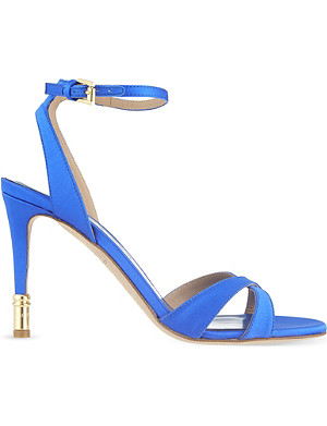 KURT GEIGER LONDON Chelsea satin sandals