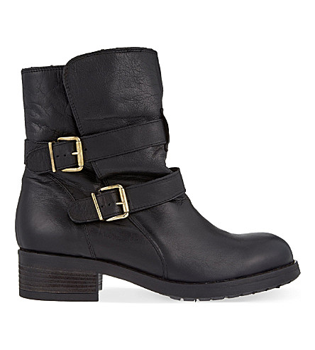 KURT GEIGER LONDON Richmond leather ankle boots (Black