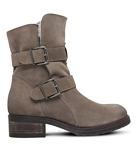 KURT GEIGER LONDON Richmond suede ankle boots (Taupe