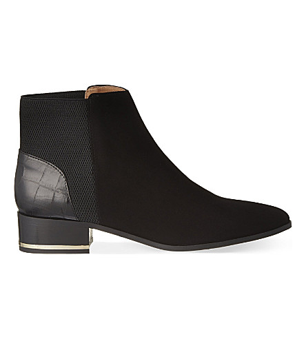 KURT GEIGER LONDON Nevern ankle boots (Black