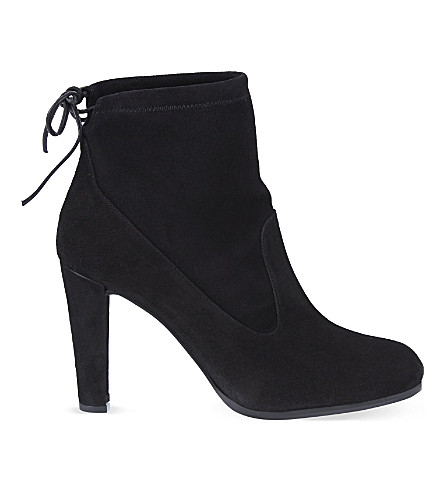 STUART WEITZMAN Glove ankle boots (Black
