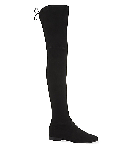 STUART WEITZMAN Leggylady over-the-knee boots (Black