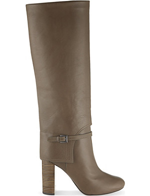 TORY BURCH Faye 100mm knee high boots