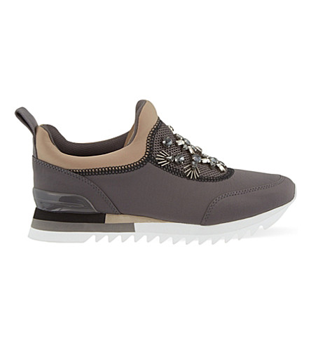 TORY BURCH Rosas runner trainers (Grey/m.cmb