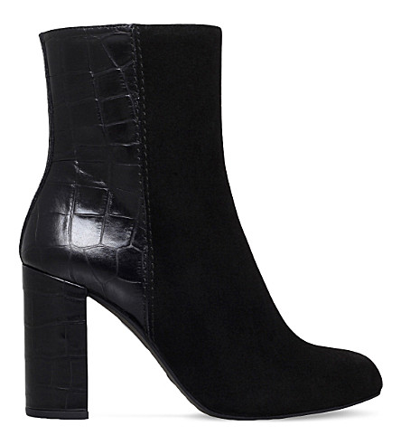 KURT GEIGER LONDON Nova suede ankle boots (Black