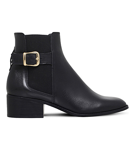 KURT GEIGER LONDON Storm leather chelsea boots (Black