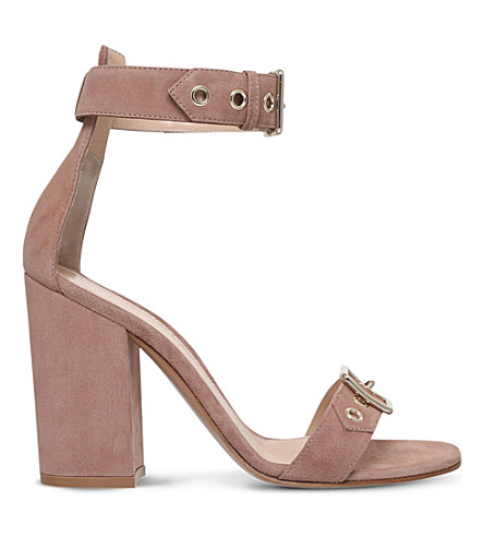 GIANVITO ROSSI Hayes suede heeled sandals