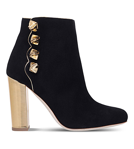 MALONE SOULIERS Effie suede boots (Black
