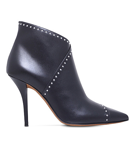 GIVENCHY Prue studded leather ankle boots (Black