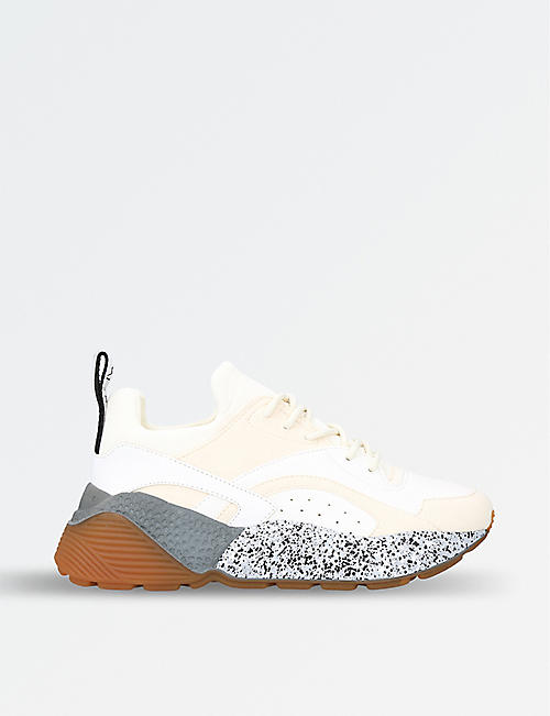 Sneakers for Women On Sale, Silver, Eco Leather, 2017, 2.5 3.5 4.5 5.5 6.5 7.5 Stella McCartney