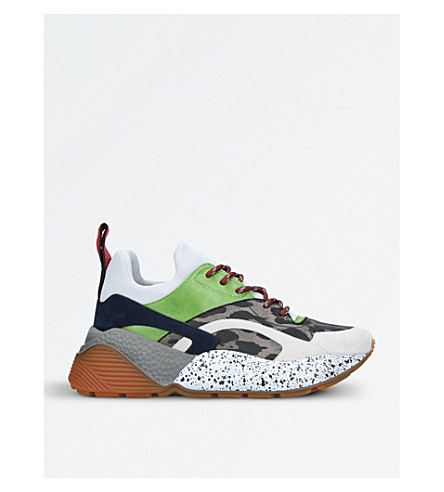 STELLA MCCARTNEY Eclypse multi-coloured trainers (Grey/m.cmb