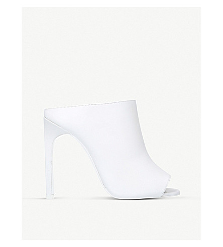 GIVENCHY Open toed mule (White