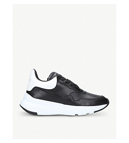 ALEXANDER MCQUEEN Oversized trainers (Blk/white