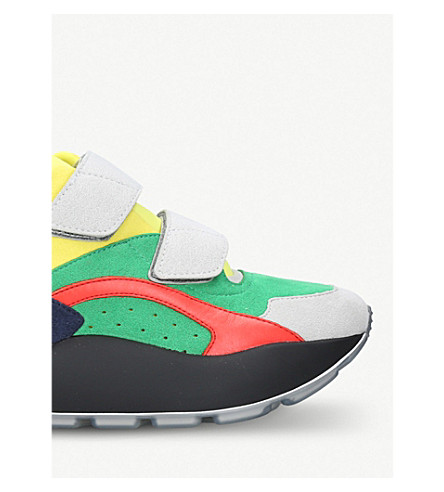 STELLA MCCARTNEY Eclipse alter-calf, micro suede and neoprene trainers (Mult/other