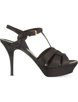 SAINT LAURENT Tribute 75 heeled sandals