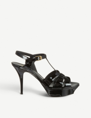 Tribute 75 patent-leather heeled sandals(1142304)