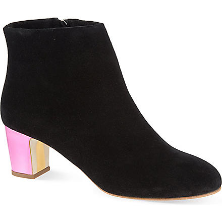 RUPERT SANDERSON Honeycup ankle boots (Blk/other