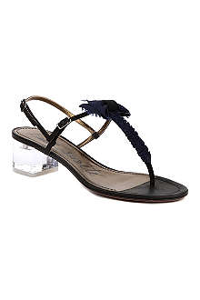 LANVIN Nimoy Erl leather sandals