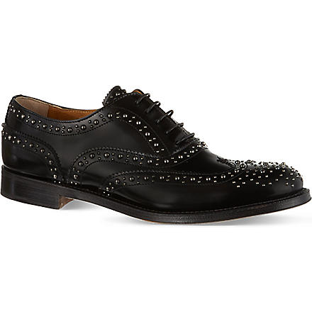 CHURCH Burwood leather brogues (Black