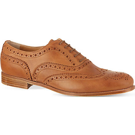 CHURCH Burwood leather brogues (Tan