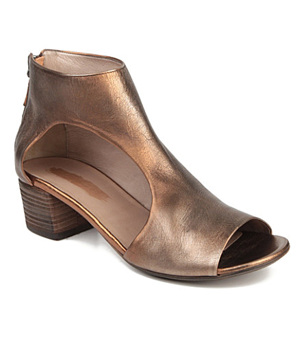 MARSELL Bo Sandalo leather ankle boots (Bronze