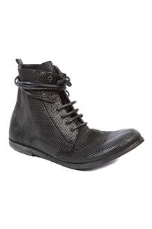 MARSELL Lista leather workman boots