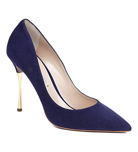 NICHOLAS KIRKWOOD Stiletto Mil courts (Blue/dark