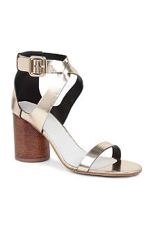 MAISON MARTIN MARGIELA Venice metallic leather sandals
