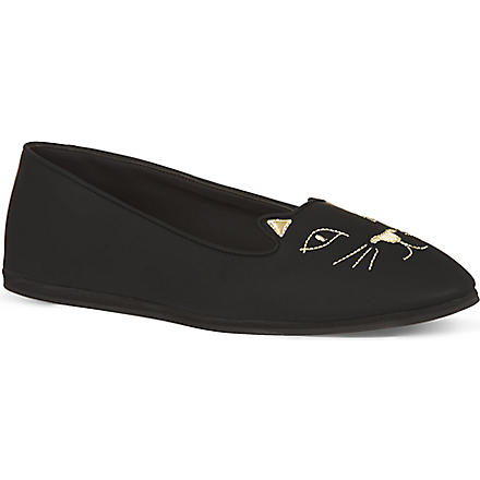 CHARLOTTE OLYMPIA Capri Cat pumps (Black
