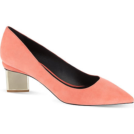 NICHOLAS KIRKWOOD Salsa court shoes (Salmon