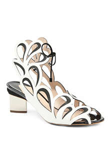 NICHOLAS KIRKWOOD Hula leather sandals