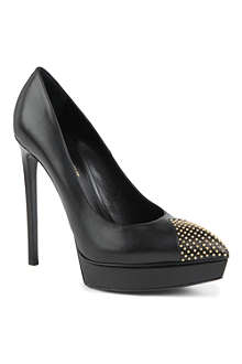 SAINT LAURENT Janis studded courts