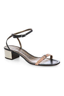LANVIN Runway leather sandals