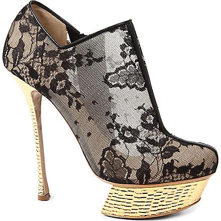 NICHOLAS KIRKWOOD Lace ankle boots (Black