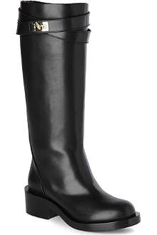 GIVENCHY Alison leather riding boots
