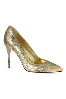 ALEXANDER MCQUEEN Metal capped court shoes