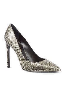 SAINT LAURENT Paris 105 scaled metallic courts