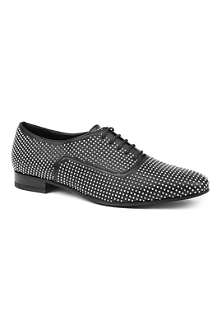 SAINT LAURENT Blake studded leather brogues