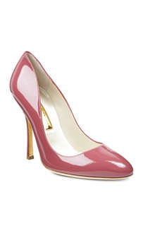 RUPERT SANDERSON Janice patent leather courts