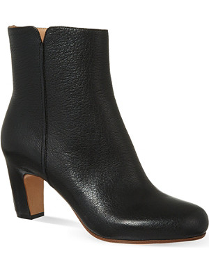 MAISON MARTIN MARGIELA Curved heel ankle boots