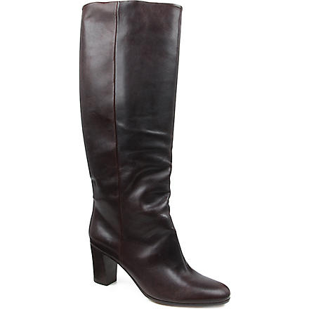 MAISON MARTIN MARGIELA Replica knee-high boots (Dark+brown