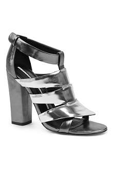 CAMILLA SKOVGAARD Metallic sandals