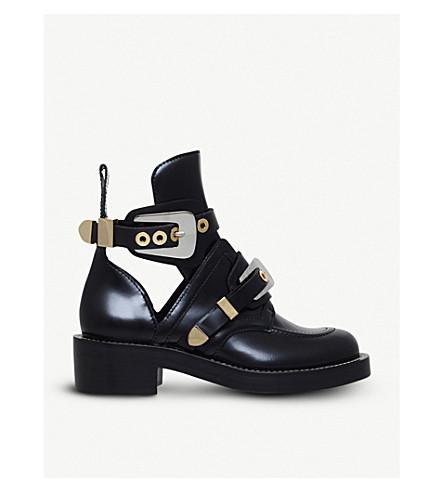 BALENCIAGACeinture 踝靴 (黑色