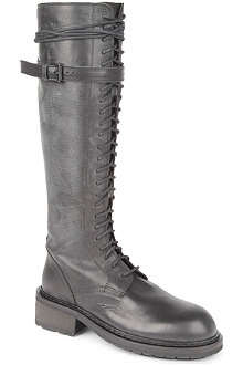 ANN DEMEULEMEESTER Kurt leather knee-high boots