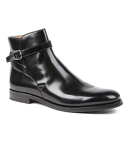 CHURCH Merthyr buckle boots (Black