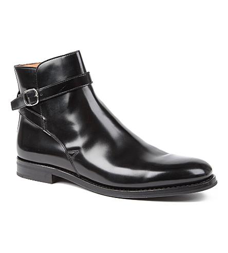 CHURCH Merthyr buckle boots (Black