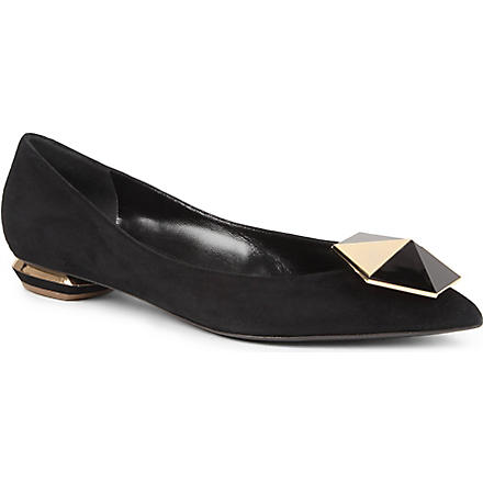 NICHOLAS KIRKWOOD Jordan court shoes (Black