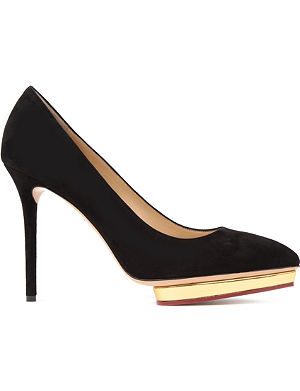 CHARLOTTE OLYMPIA Debbie court shoes